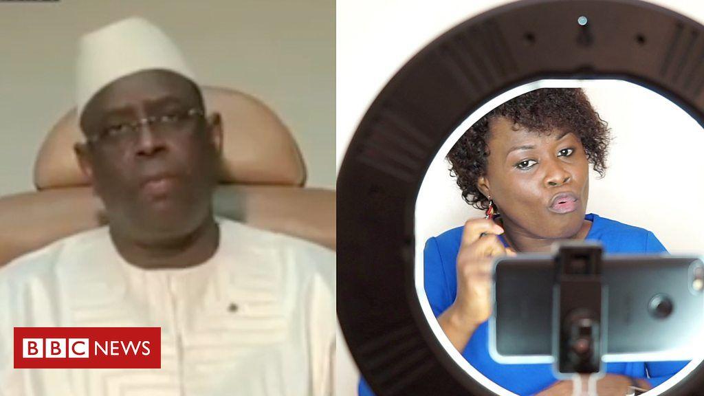 Coronavirus: Bringing Covid-19 news to Senegal's deaf community