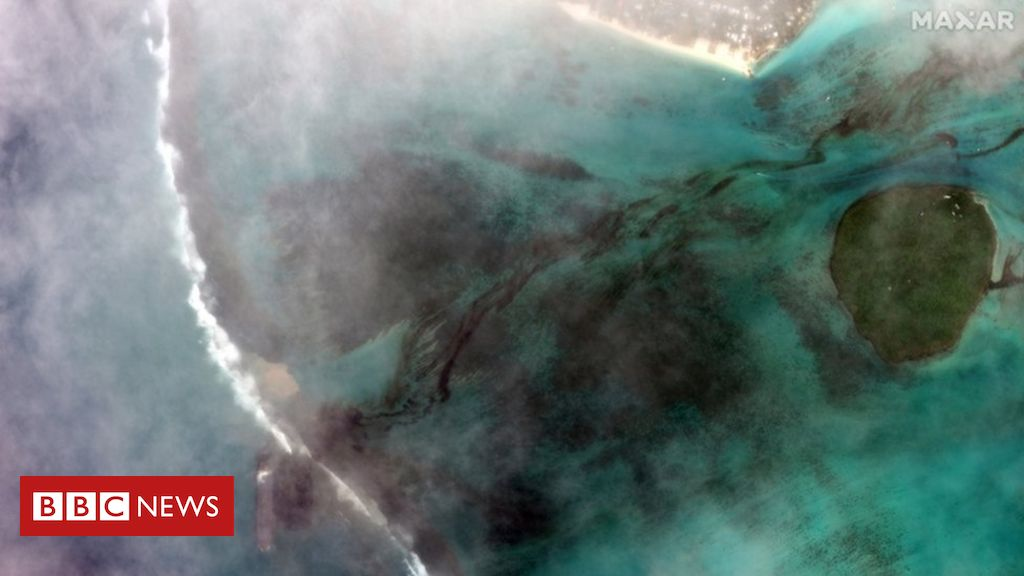 MV Wakashio: Mauritius declares emergency as stranded ship leaks oil