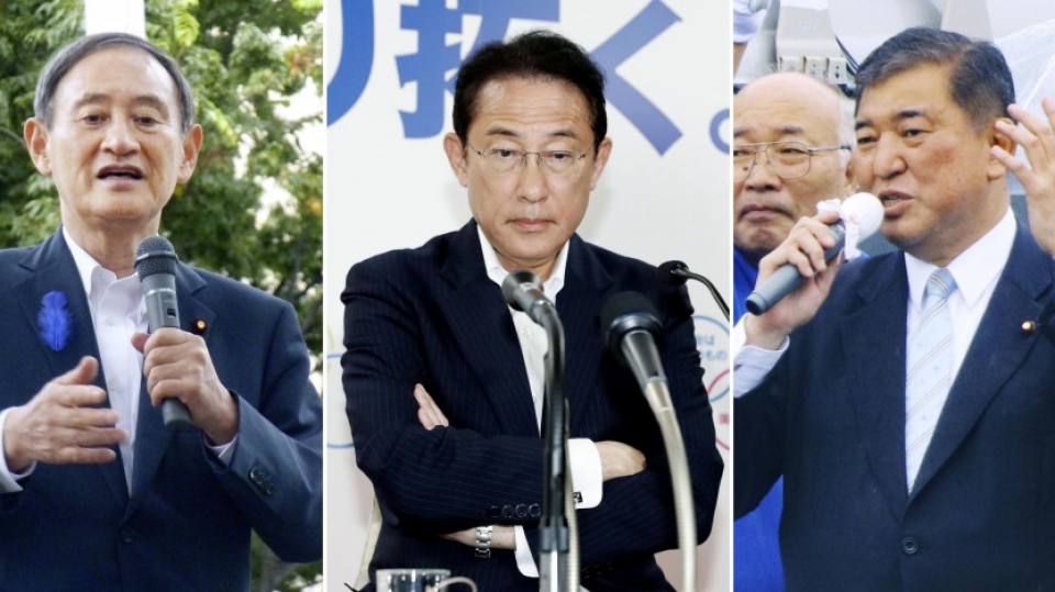 Race to succeed Abe kicks off with no clear favorite