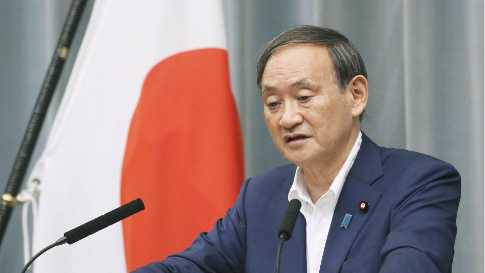Gov't top spokesman Suga to join race to succeed Abe: source