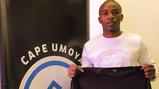 Zimbabwe's Gabriel Nyoni uses his marketing degree to get a new club