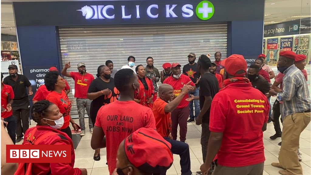 South Africa's Clicks beauty stores raided after 'racist' hair advert