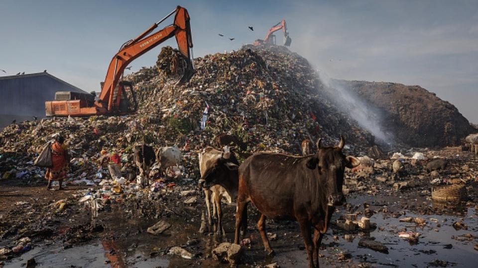 Annual global methane emissions soar in last 2 decades