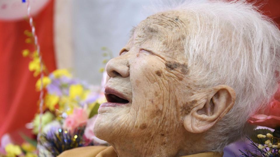 Tanaka sets new Japan age record at 117 years, 261 days