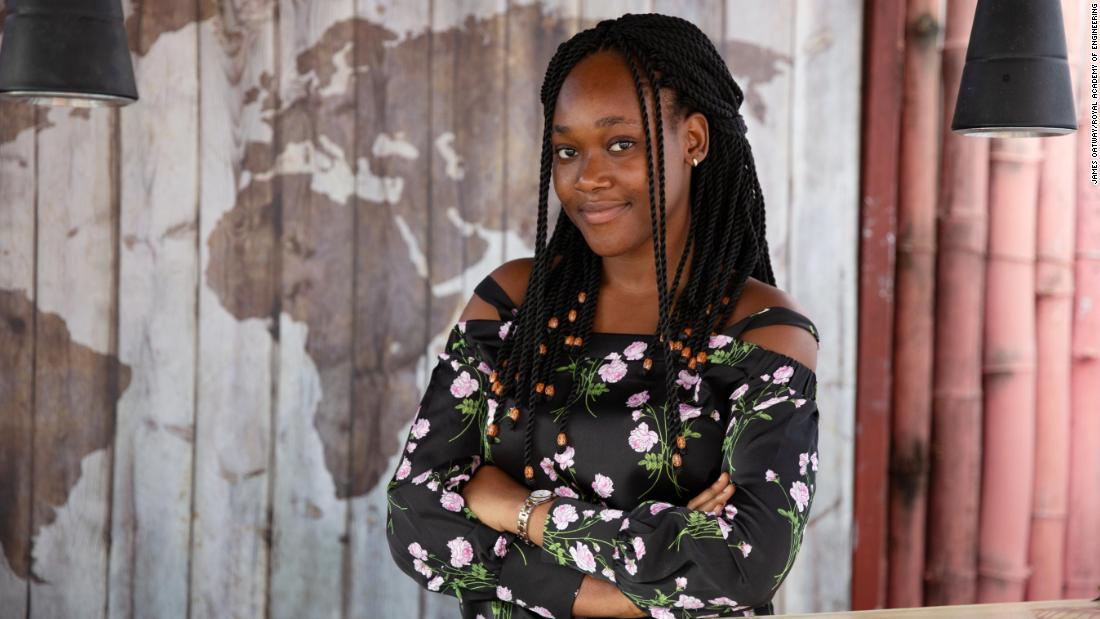 Charlette N'Guessan wins Royal Academy of Engineering's Africa Prize for innovation