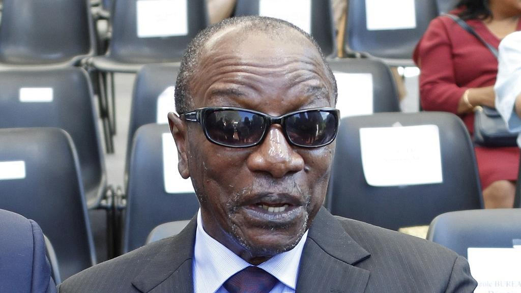 Guinea President Conde accepts nomination to seek third term
