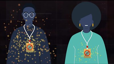 Coronavirus in Africa: Explaining the bogus 'viral blockers' worn by some politicians