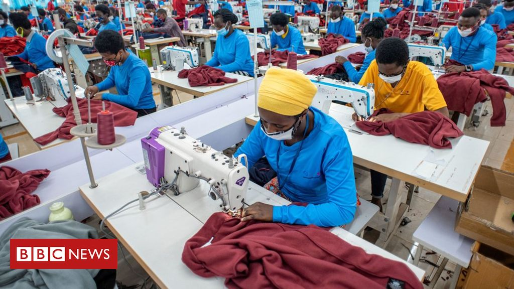 Rwanda's clothing spat with the US helps China