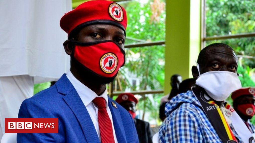 Bobi Wine: Ugandan pop star politician's office raided