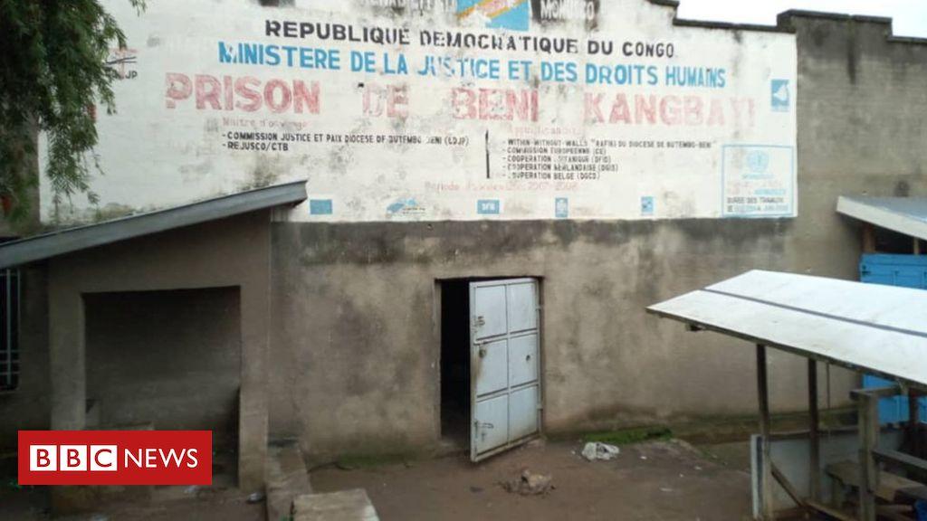 DR Congo jail break: 'Islamist ADF rebels' free 1,300 inmates