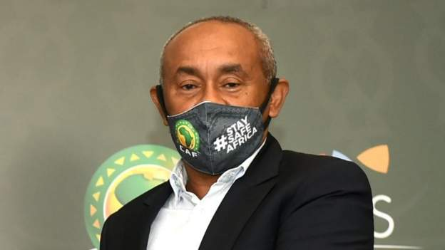 Caf President Ahmad hospitalised after contracting Covid-19