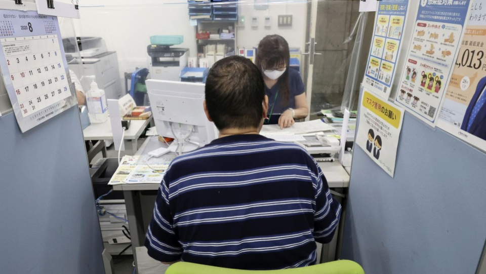 Japan's Aug. jobless rate rises to 3%, highest in 3 yrs due to virus