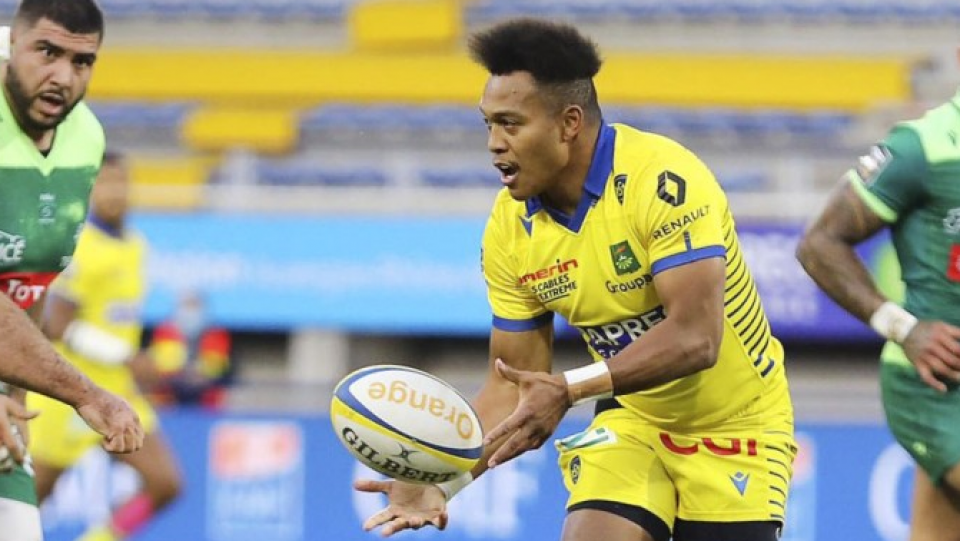 Clermont's Kotaro Matsushima scores first tries in French 1st division