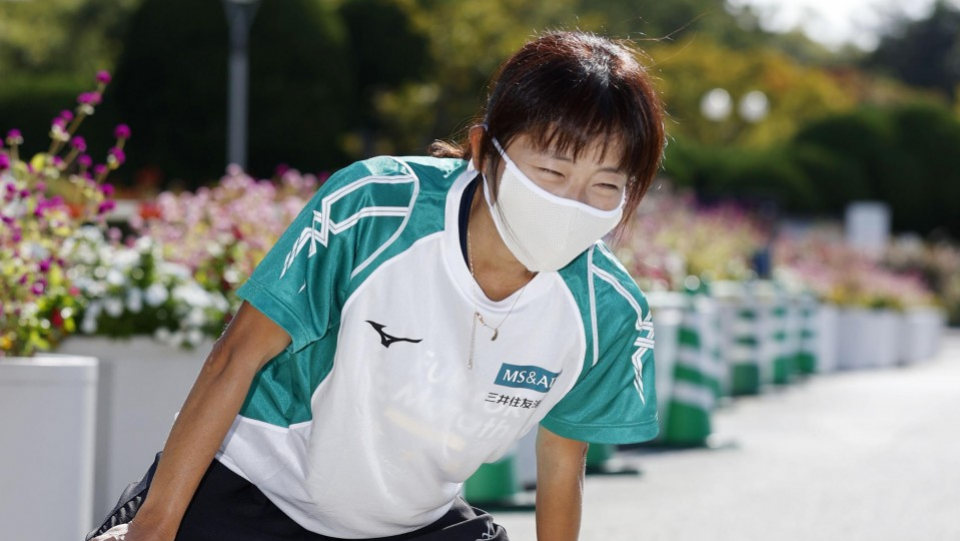 Japanese para athlete taking strength from COVID-19 struggles