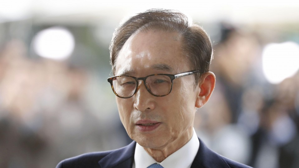 South Korea top court upholds 17-year prison term for ex-leader Lee