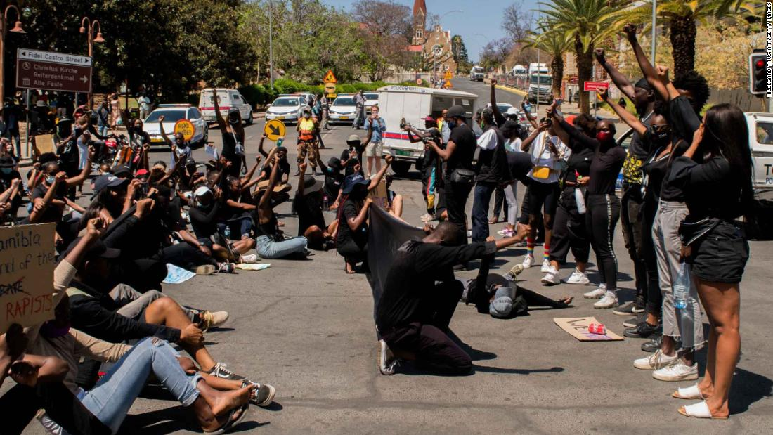 Namibia: Anti-femicide protesters call for a state of emergency