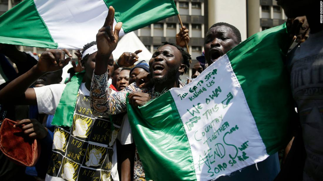 In photos: Nigerians protest police brutality