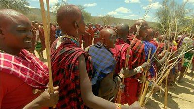 Kenya's Maasai Olngesher ceremony: Young men graduate into community elders