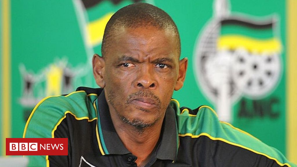 South Africa's Ace Magashule: Arrest warrant issued for ANC official