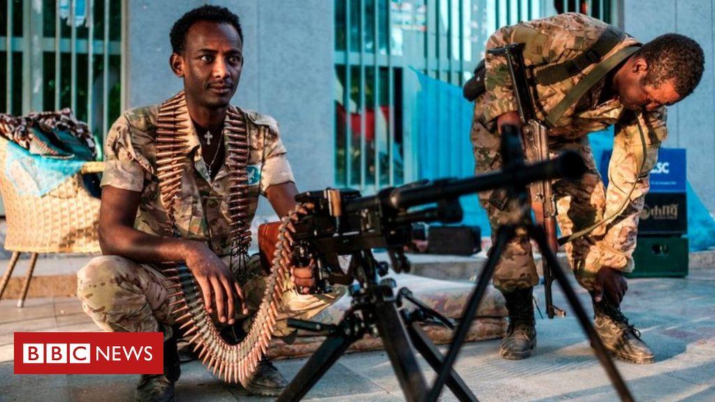 Ethiopia's Tigray crisis: Tigray force 'still fighting' despite army Mekelle push