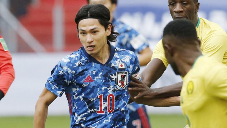 Minamino, Kubo headline Japan squad to face Panama, Mexico