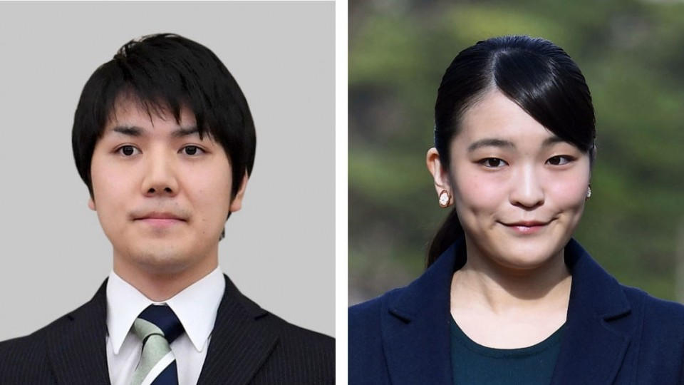 """Japan crown prince says he """"approves"""" of daughter's delayed marriage"""