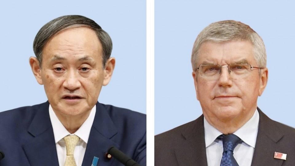 Suga to meet IOC chief Nov. 16 as Japan eyes hosting games amid pandemic