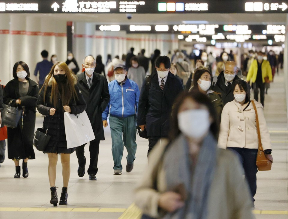 Japan gov't to give financial aid for shorter hours as virus surges
