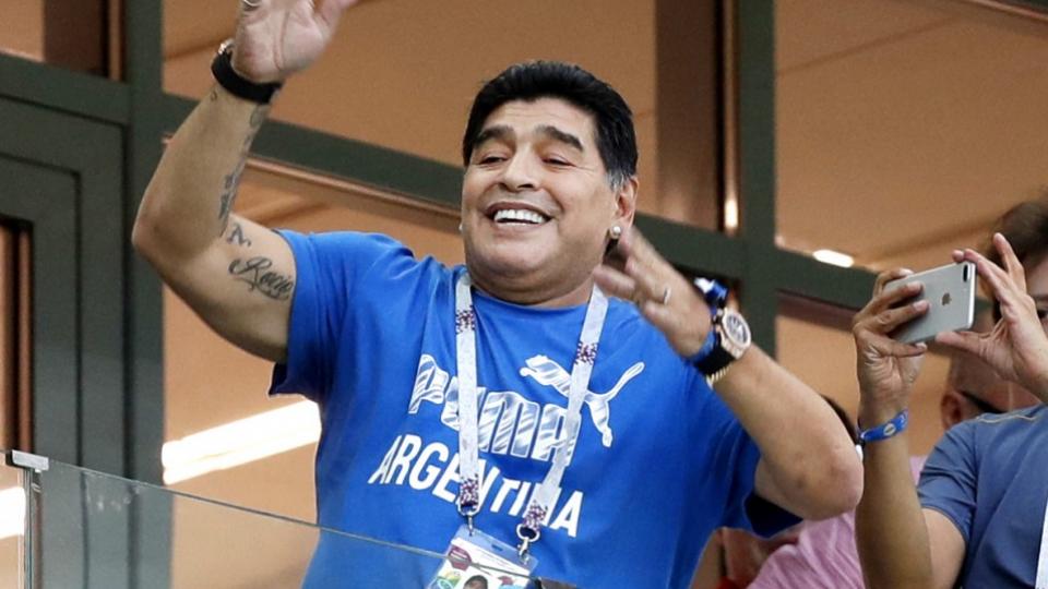 Ex-soccer superstar Maradona dies at 60