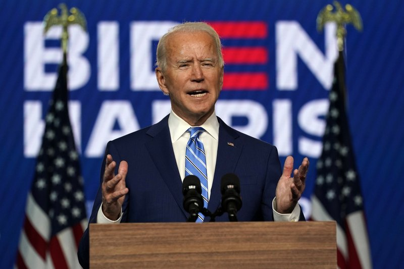 Joe Biden elected 46th president of the United States