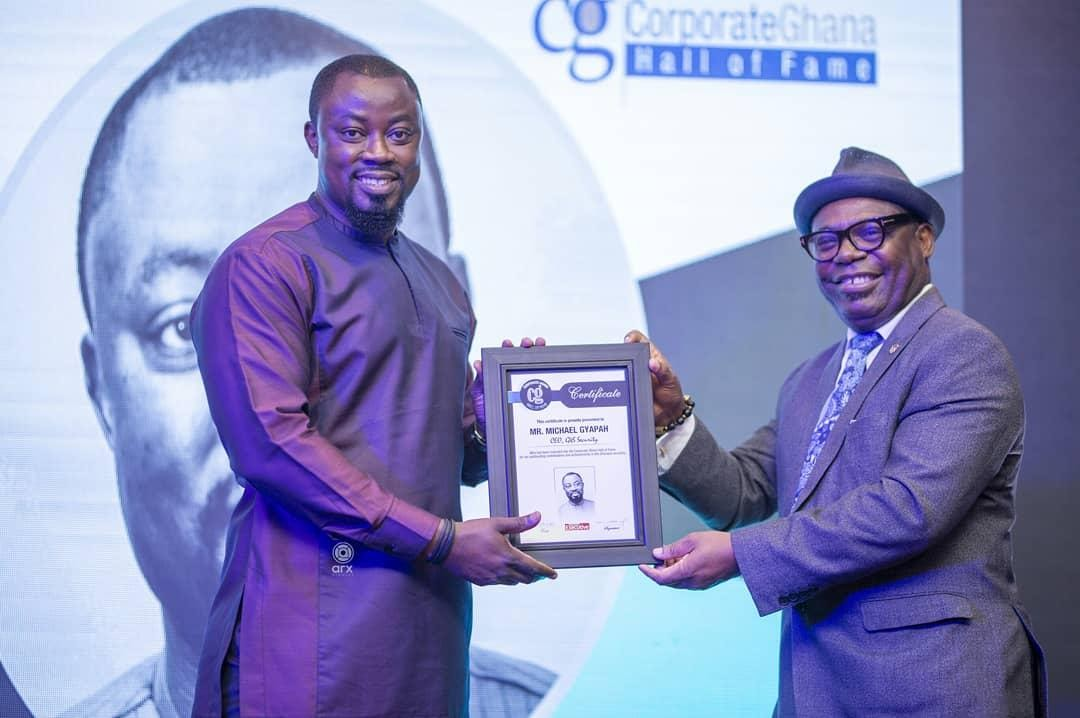 G4S Security Services MD inducted into Ghana Corporate Hall of Fame