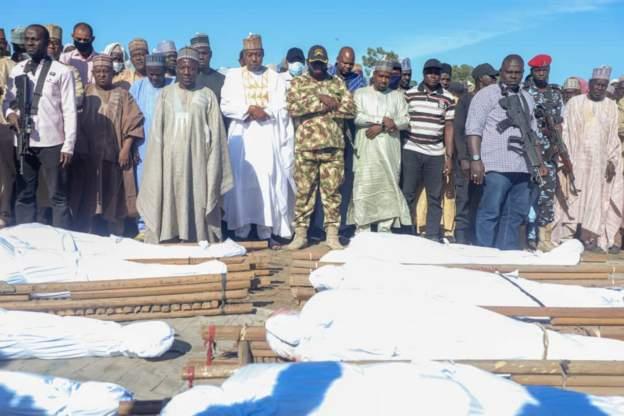110 people killed in rice farm massacre in Nigeria