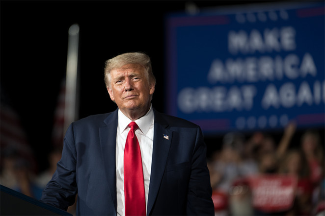 Trump says Biden won election but he still refuses to concede
