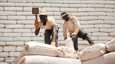 Senegal: Building sustainable schools using 'moon bricks'