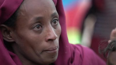 Ethiopia Tigray crisis: 'We came with the clothes on our backs'