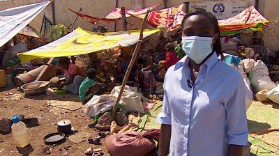 Ethiopia's Tigray crisis: Thousands seek refuge on Sudan-Ethiopia border