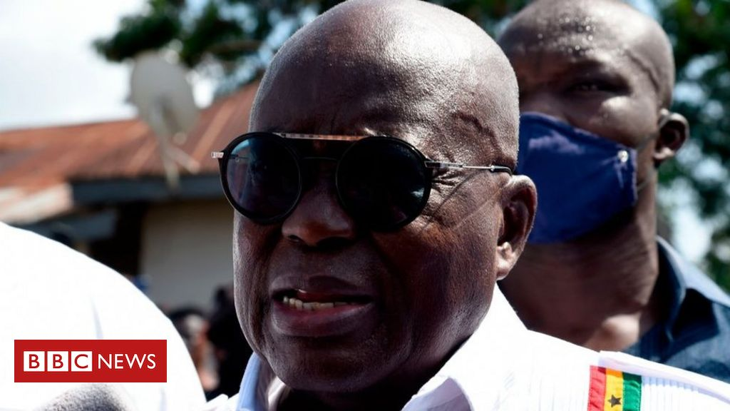 Ghana election: Nana Akufo-Addo re-elected as president