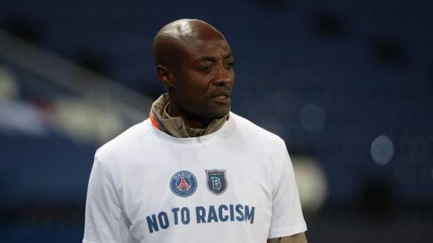 Pierre Webo: Istanbul Basaksehir assistant coach says 8 December will be significant date in racism fight