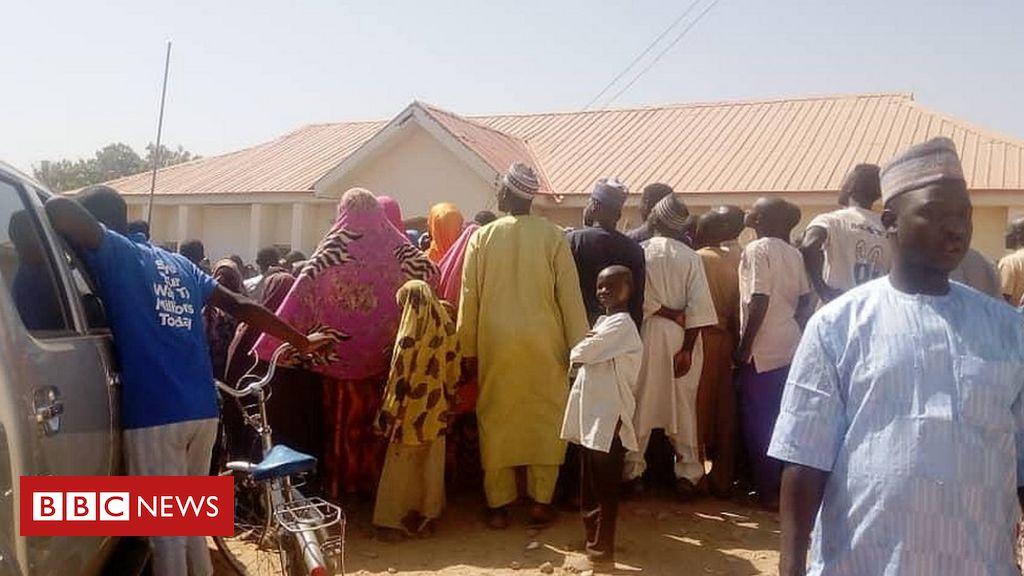 Nigeria's Katsina school abduction: Boko Haram shows video 'of seized boys'
