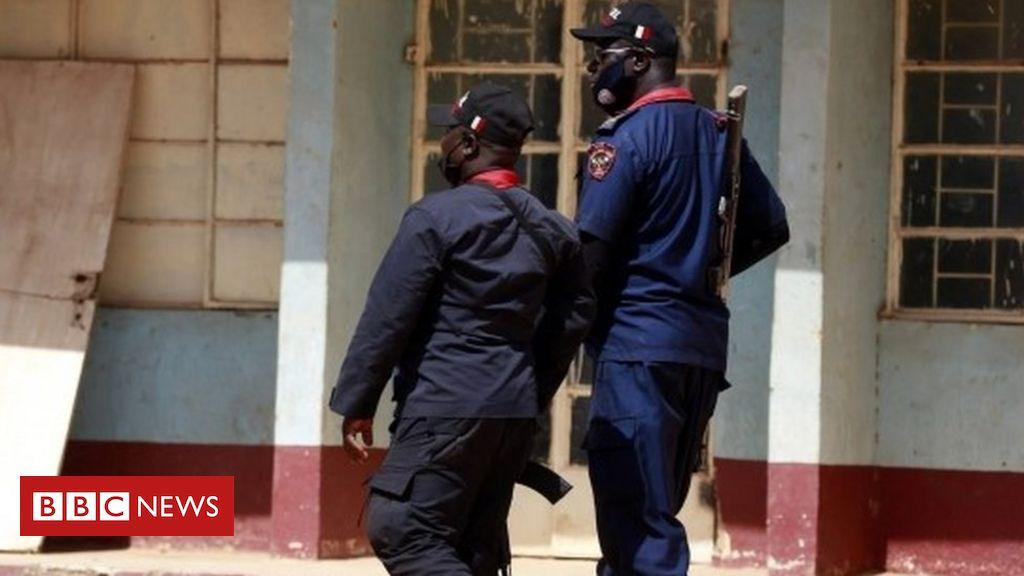 Nigeria school attack: Gunmen who seized children in Katsina 'surrounded'