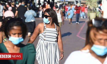 Covid: South Africa passes one million infections as cases surge
