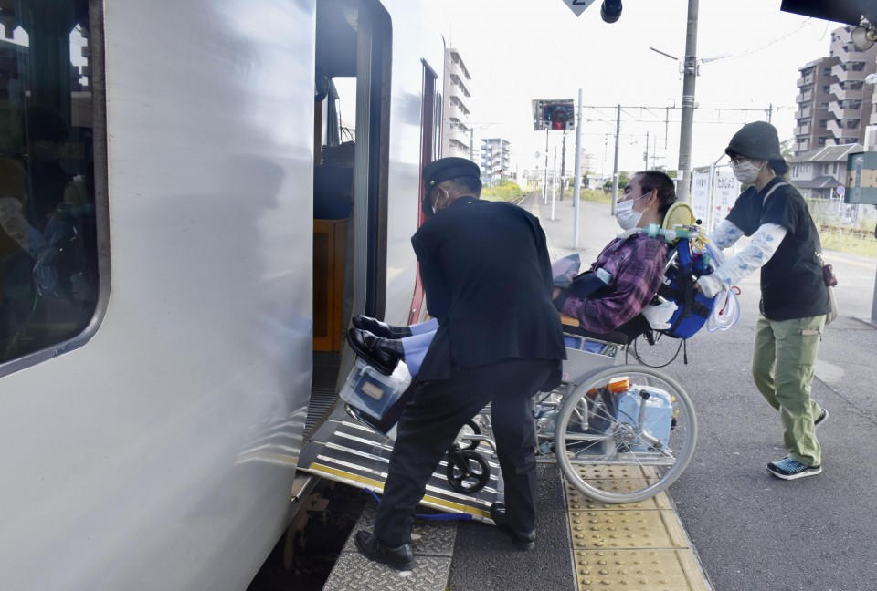 Japan's disabled suffer as train stations increasingly go unstaffed