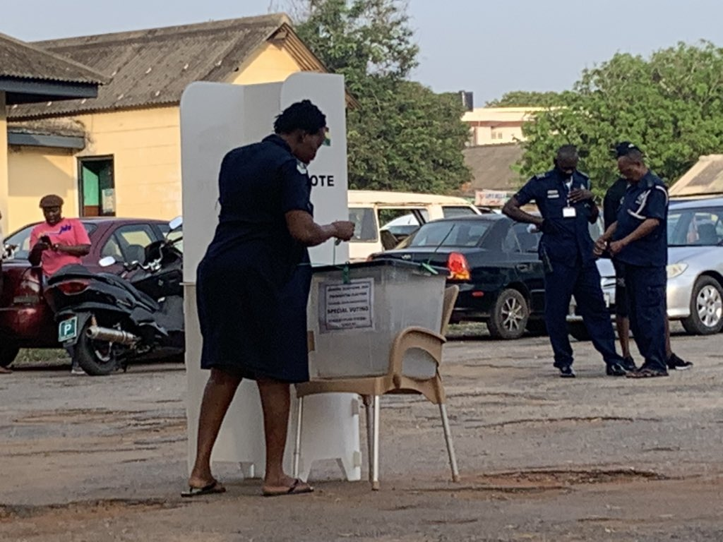 Ghana holds special voting ahead of December 7 polls