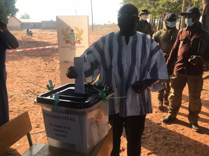 Ghanaians vote in crucial 2020 general elections