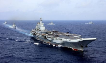 Chinese carrier group sails through Taiwan Strait, Taiwan says