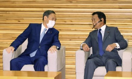 Sinking public support suggests Suga's tenure may echo Aso's