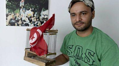 Tunisia's revolution: 'Cage man' Wadih Jalasi remembers start of Arab Spring