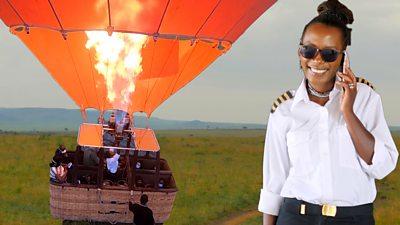 Hot air ballooning: Joyce Beckwith flies over Maasai Mara in Kenya