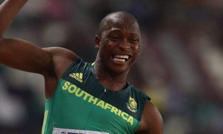 Luvo Manyonga: South Africa long jump star suspended