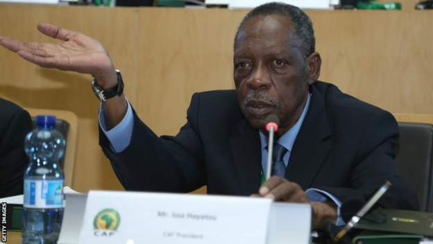How Caf went from stopping Hayatou's pension to honouring him